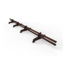 Снегозадержатель D-Bork для металлочерепицы длина 3 м