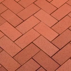 Тротуарная клинкерная брусчатка Baltic Classic STT45 красный