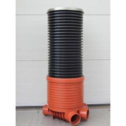Колодец канализационный Pro T1 (прямопроходной) 400/160 мм (сборный комплект)