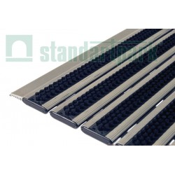 Придверная грязезащитная решетка Респект бруш (щетка) 400х600 мм