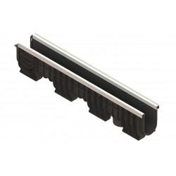 Лоток водоотводный PolyMax Basic ЛВ-10.16.20-ПП Ус. пластиковый (усиленный)