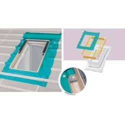 Гидро-пароизоляционный комплект окладов Fakro (XDP+XDS)
