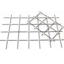 Композитная сетка для армирования Rockmesh 100х100 ммширина сетки 0,65 м