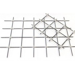 Композитная сетка для армирования Rockmesh 100х100 ммширина сетки 1,20 м