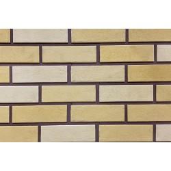 Облицовочная камень-панель гладкий кирпич 11-20 многоцвет