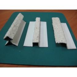 Профиль цоколь НАРУЖНЫЙ УГОЛ декор 0,79 м (отделка каменной крошкой)