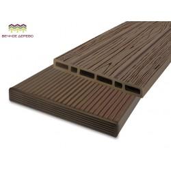 Планкен - штакетник фасадный 122 х 12 х 2000 антрацит, бамбук