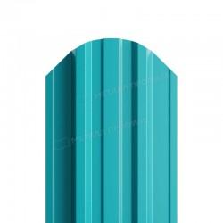 Штакетник металлическийМП TRAPEZE-O фигурныйPE 0,40мм