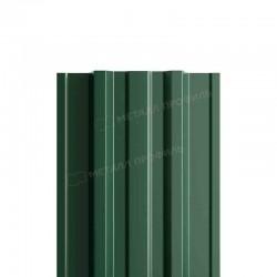 Штакетник металлическийМП TRAPEZE-T прямойPE 0,40мм