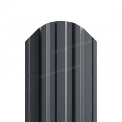 Штакетник металлическийМП TRAPEZE-O фигурныйPE 0,45мм