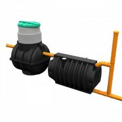Комплект автономной канализации 'Rostok' Мини чёрный