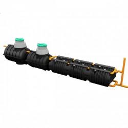 Комплект автономной канализации 'Rostok' Макси чёрный