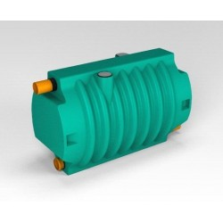 Блок биофильтра Rostok зеленый