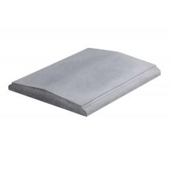 оголовник столба 'рваный камень', 490мм серый