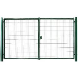 Ворота распашные Medium New lock 2,43х4,0 м