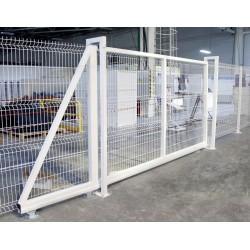 Откатные ворота Эконом 2,0х5,5 м GrandLine