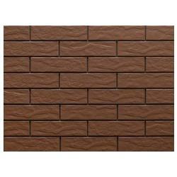 CERRAD Фасадная плитка  Brown (Brazowa) Rustic / структурная