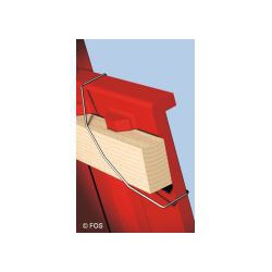Противоштормовой зажим для керамической черепицы 250 шт. в упак. выписывается кратно упаковке