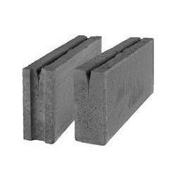 Стеновой бетонный блок СКЦК 2Р-13 паз-гребень, керамзитобетонный (межкомнатные перегородки)