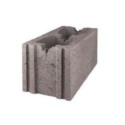 Стеновой бетонный блок СКЦK 1Р-1 рядовой  керамзитобетонный (межквартирные перегородки, стены)